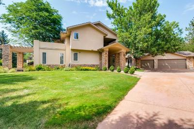 Boulder Single Family Home Under Contract: 7096 Indian Peaks Trail