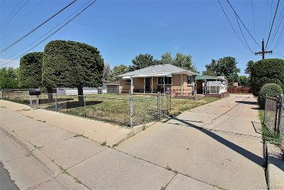 Commerce City Single Family Home Active: 6741 East 64th Avenue