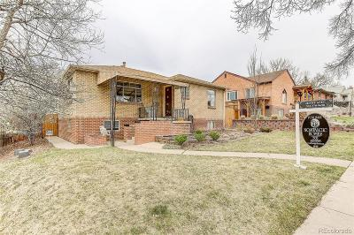 Denver Single Family Home Under Contract: 3029 Zenobia Street