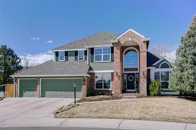 Highlands Ranch Single Family Home Under Contract: 3314 Meadow Creek Place
