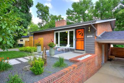 Golden Single Family Home Under Contract: 1040 Zinnia Street