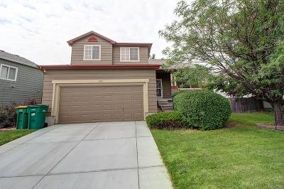 Parker Single Family Home Under Contract: 8411 Golden Eye Drive