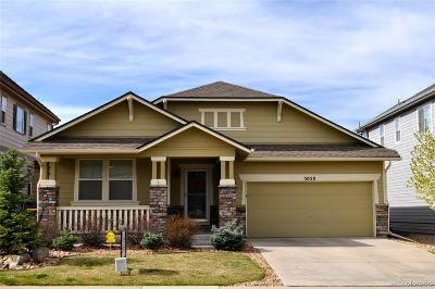 Castle Rock Single Family Home Active: 5058 Summerville Circle