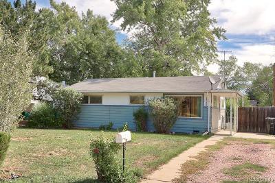 Denver Single Family Home Active: 1540 South Zenobia Street