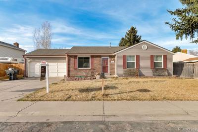 Thornton Single Family Home Active: 11215 Ash Circle