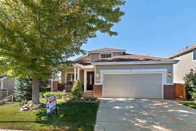 Highlands Ranch Single Family Home Under Contract: 639 Timbervale Trail