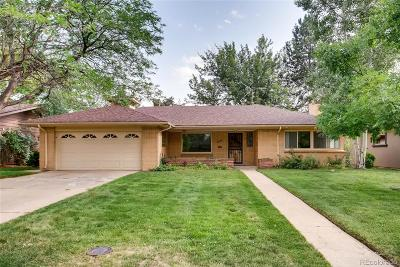 Denver Single Family Home Under Contract: 609 South Monroe Way