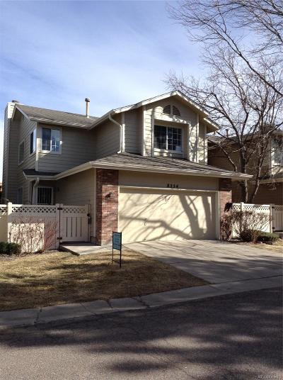 Centennial Single Family Home Active: 8254 South Gaylord Circle