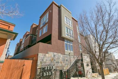 Condo/Townhouse Under Contract: 3040 Zuni Street #E
