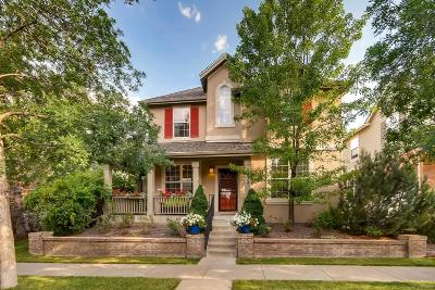 Denver Single Family Home Active: 7632 East 8th Place