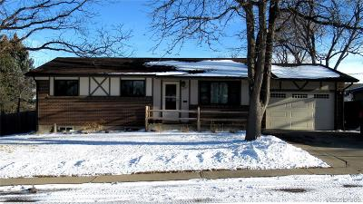 Northglenn Single Family Home Under Contract: 9988 Dodge Drive