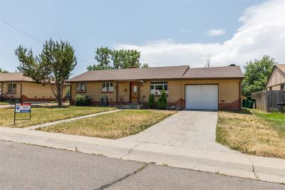 Commerce City Single Family Home Active: 5710 East 67th Avenue