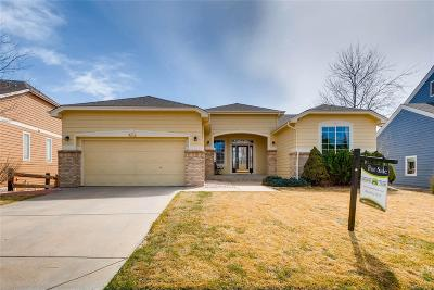 Castle Pines Single Family Home Under Contract: 7838 Stonedale Drive