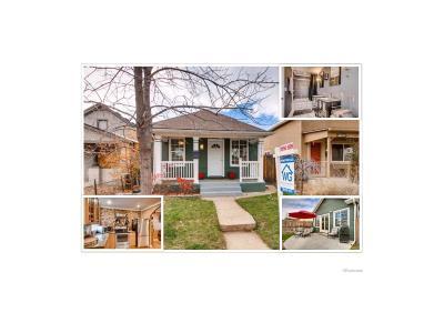 Denver Single Family Home Active: 3915 Navajo Street