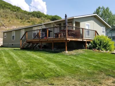 Steamboat Springs CO Single Family Home Active: $179,000