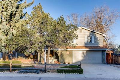 Littleton Single Family Home Active: 7680 South Kendall Boulevard