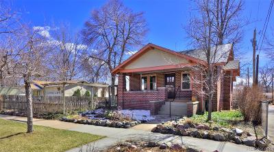 Denver Single Family Home Active: 2626 West 42nd Avenue