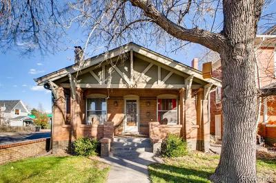Denver Single Family Home Active: 300 South Corona Street