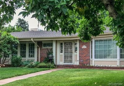 Denver Single Family Home Active: 100 South Eudora Street