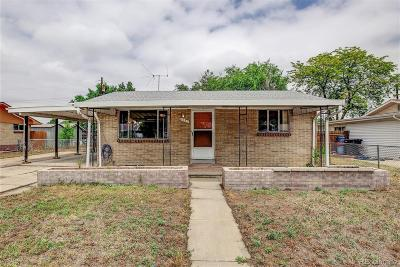 Commerce City Single Family Home Active: 6241 East 65th Place