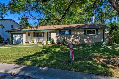 Lakewood Single Family Home Under Contract: 2145 South Yukon Way