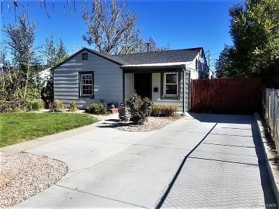 Denver Single Family Home Active: 3720 Monroe Street