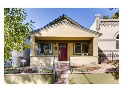 Denver Single Family Home Active: 3533 Mariposa Street