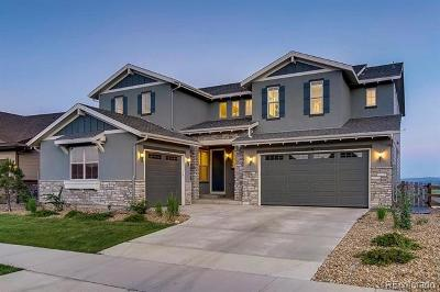 Arvada Single Family Home Active: 8696 Zircon Way