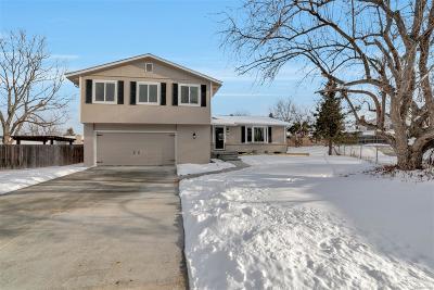 Arvada Single Family Home Under Contract: 8350 Estes Court