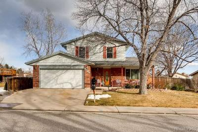 Arvada Single Family Home Active: 6686 Arbutus Street