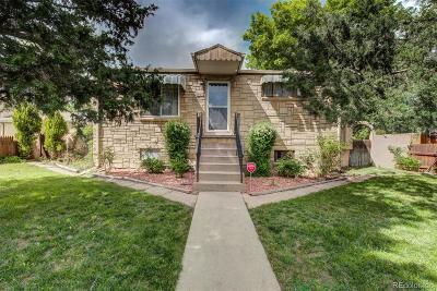 Denver Single Family Home Active: 3195 West Dakota Avenue