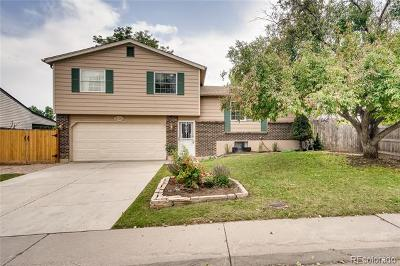 Littleton Single Family Home Under Contract: 9120 West Bellwood Place