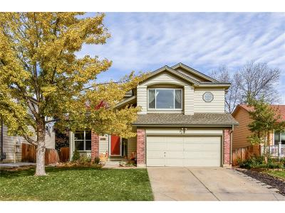 Littleton Single Family Home Active: 11461 West Parkhill Drive