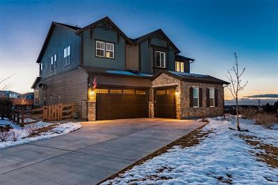 Aurora Single Family Home Under Contract: 7855 South Grand Baker Street