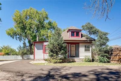 Denver Single Family Home Under Contract: 1900 East 78th Avenue