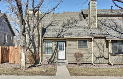 Arvada Condo/Townhouse Under Contract: 10731 West 63rd Avenue #A