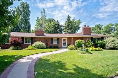Denver, Lakewood, Centennial, Wheat Ridge Single Family Home Active: 2 Ivanhoe Street