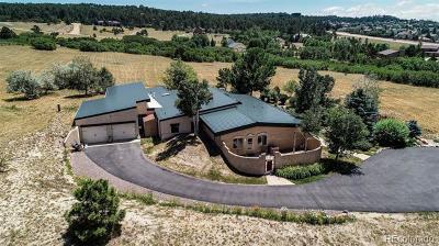 Colorado Springs Single Family Home Active: 15590 Castlegate Court