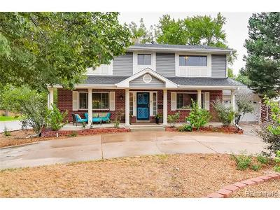 Denver Single Family Home Active: 2610 South Zurich Court