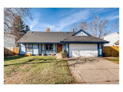 Morrison Single Family Home Under Contract: 4435 South Van Gordon Way