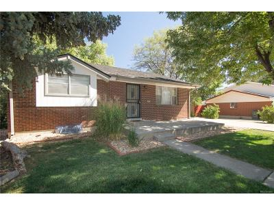 Northglenn Single Family Home Active: 11460 Clarkson Street