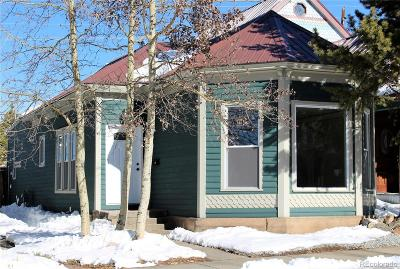 Leadville Single Family Home Active: 122 East 8th Street