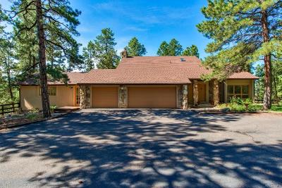 Franktown Single Family Home Under Contract: 1261 Meadow Trail