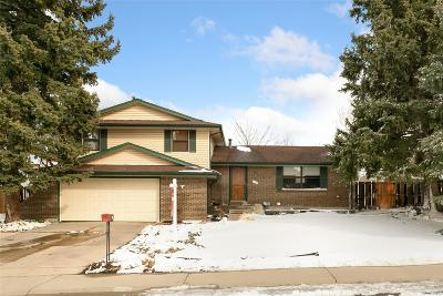 Arvada Single Family Home Active: 7344 Vance Street