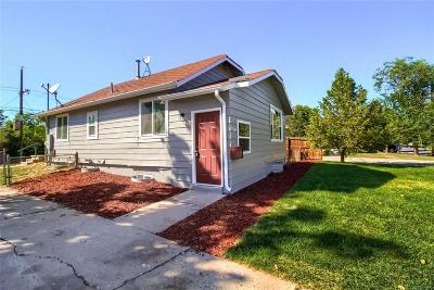 Arvada Single Family Home Active: 5321 Independence Street