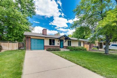 Denver Single Family Home Active: 1346 South Newport Street