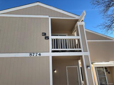 Arvada Condo/Townhouse Active: 8774 Chase Drive #35