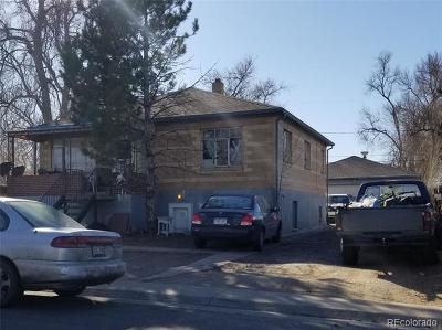 Denver Single Family Home Active: 839 South Newton Street