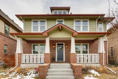Denver Single Family Home Under Contract: 7978 East 25th Avenue