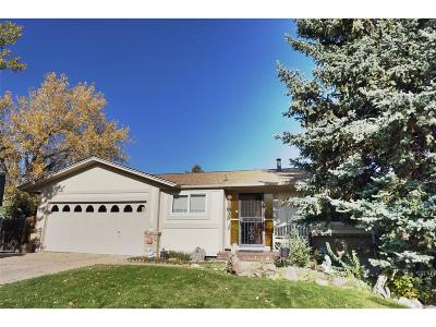 Lakewood Single Family Home Under Contract: 13665 West Utah Avenue
